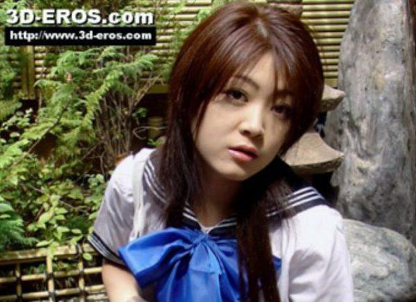 3D Eros 3D TV porn Japanese idol