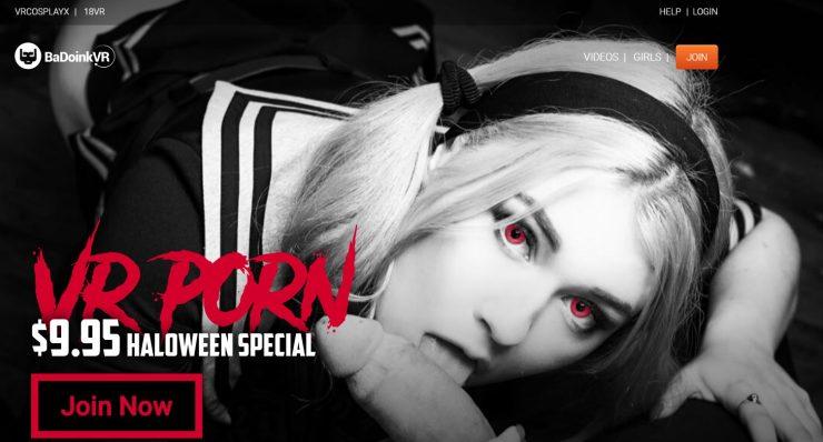 Halloween special offer BadoinkVR