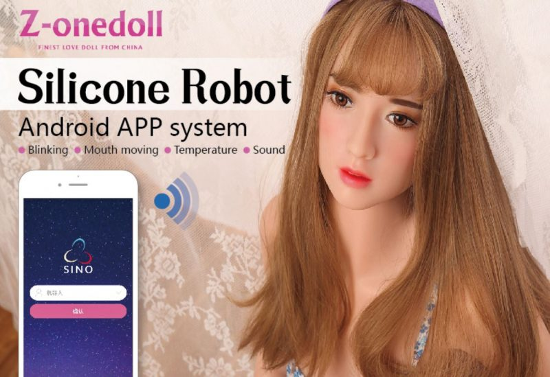 z-onedoll silicone robot androd app system