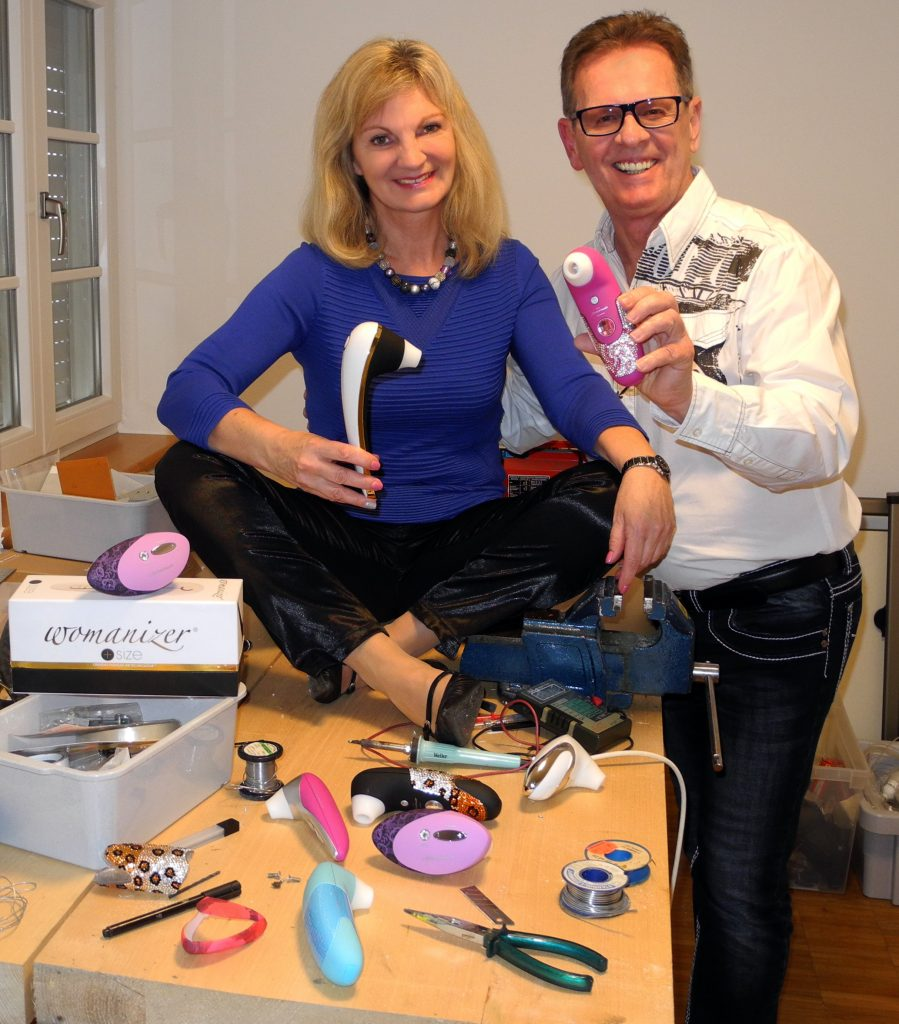 Brigitte & Michael Lenke, designers of the Womanizer