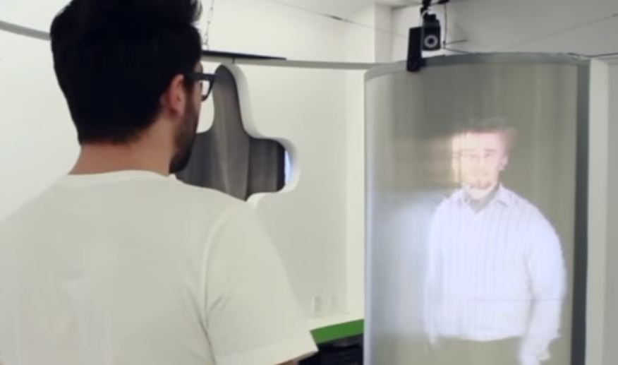 holographic video conferencing