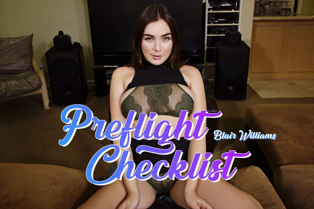 BadoinkVR PreFlight Checklist