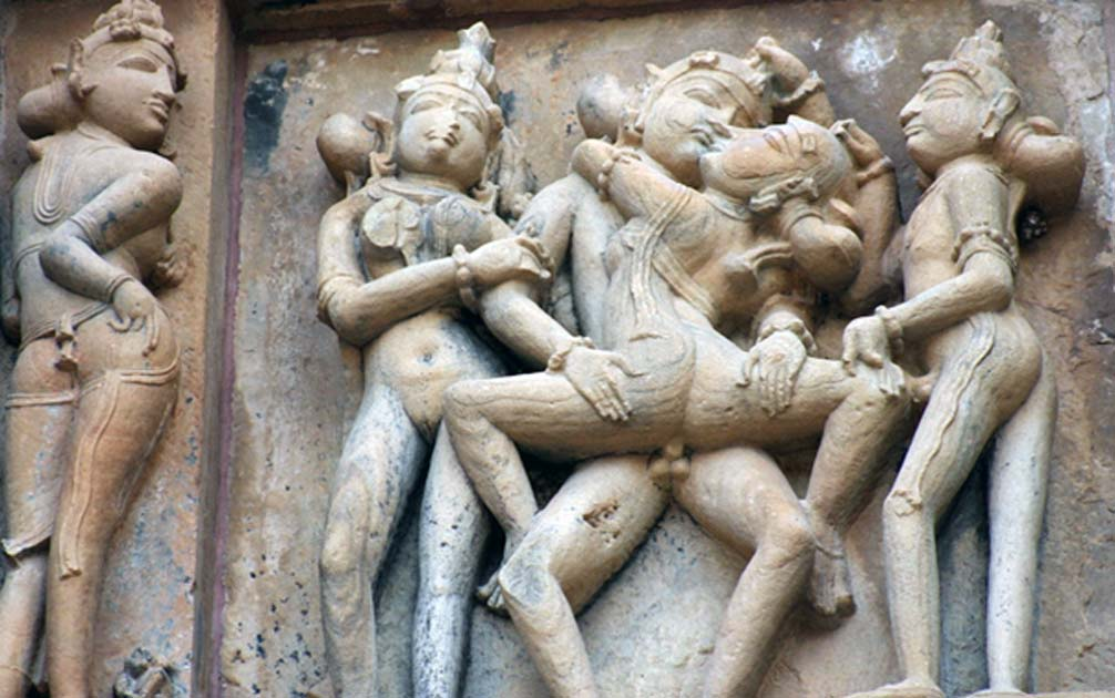 khajuraho Indian sex temple