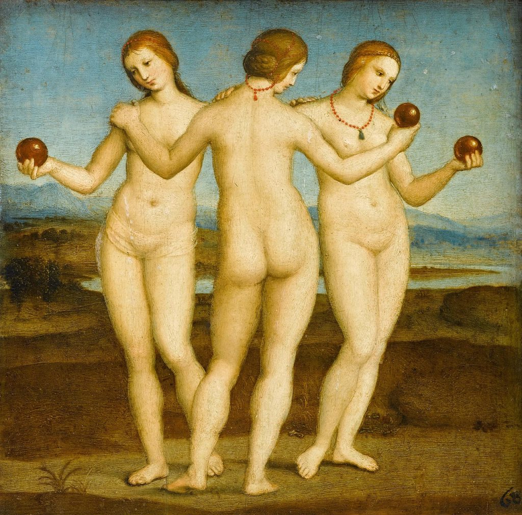 Raphael Three Graces