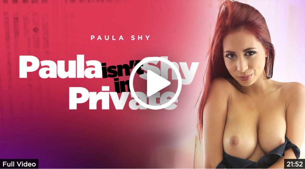 Paula isn't shy in private
