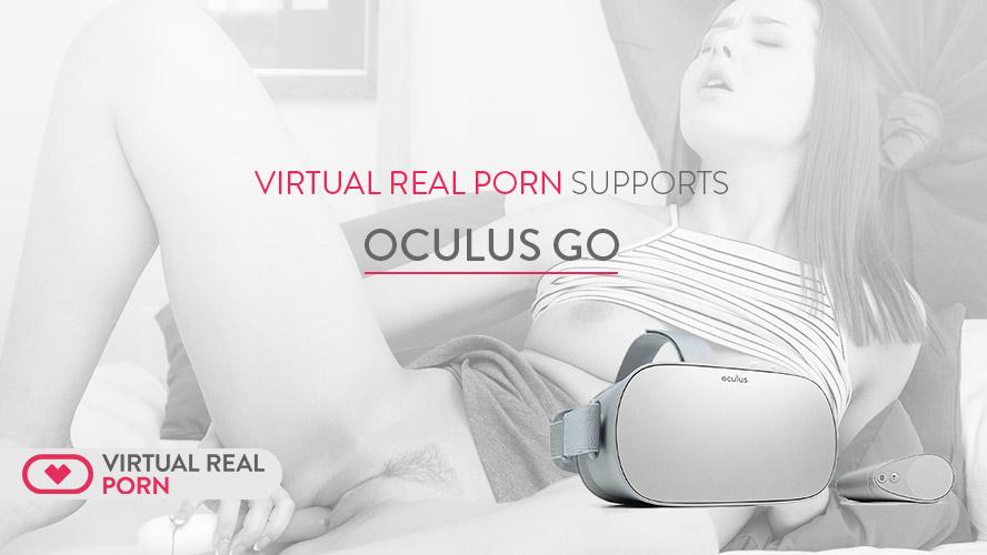 VirtualRealPorn supports Oculus Go