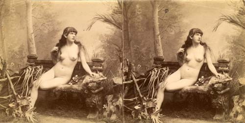 early 3d stereo nude