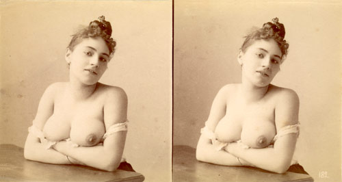 early erotic stereoscopic photo