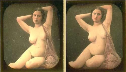 erotic stereo daguerreotype