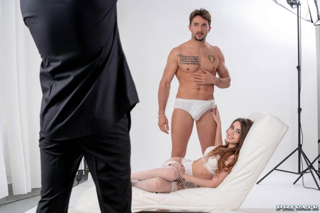behind the scenes 4K porn movie