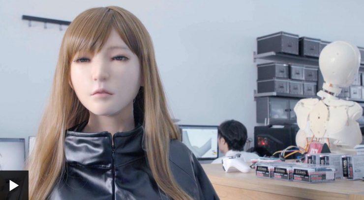 Chinese AI Sex Robots BBC