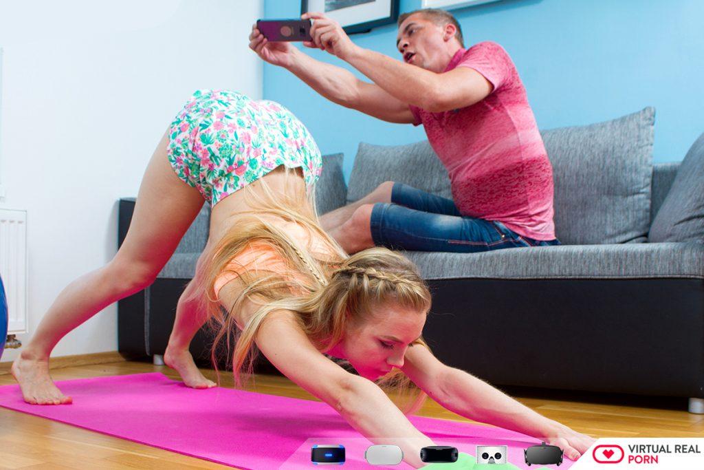 Russian gymnast sexy girl flexible