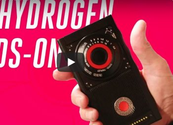 Hydrogen holographic phone