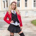 Natalia Starr schoolgirl