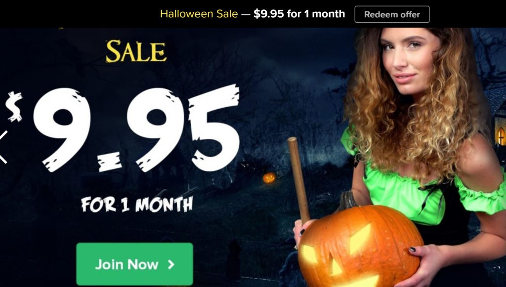 Virtual Taboo Halloween Offer