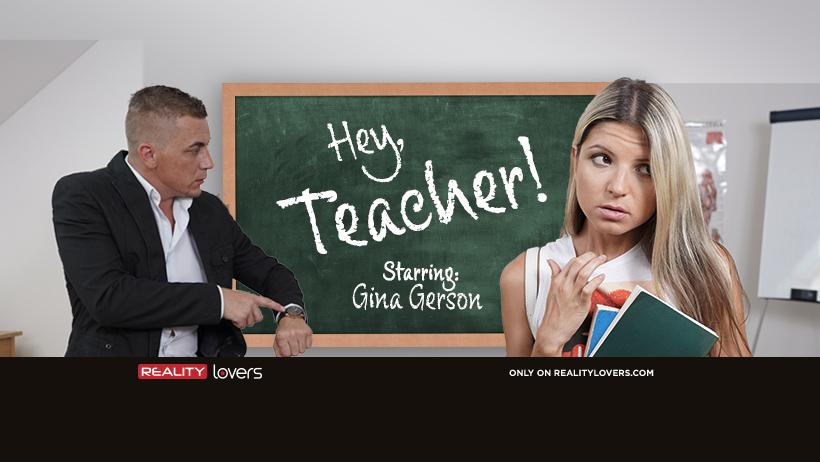 Hey Teacher starring Gina Gerson