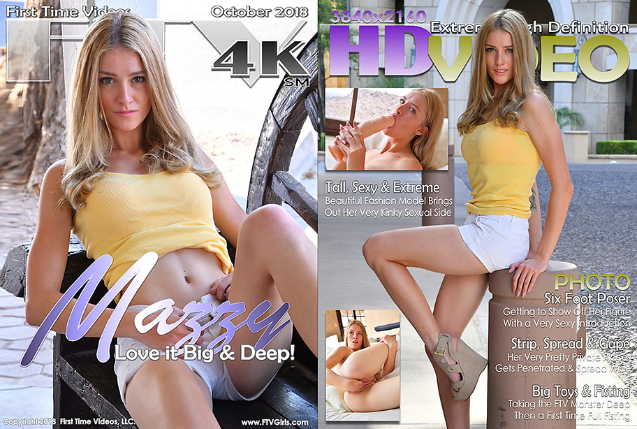 Mazzy FTV Girs 4K video cover