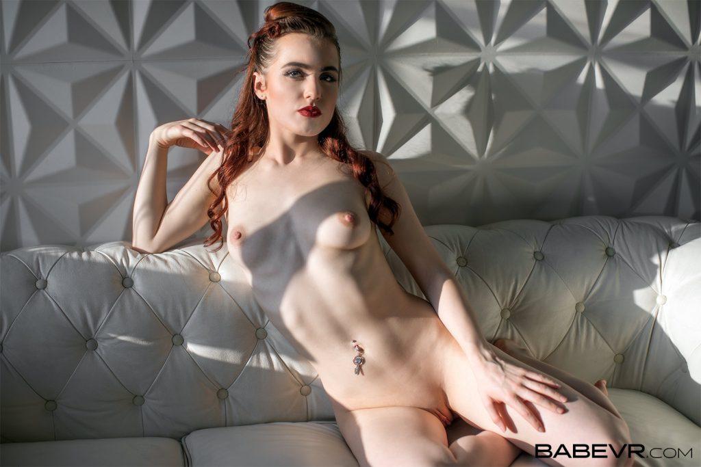 British babe Lola Rae naked in sunlight