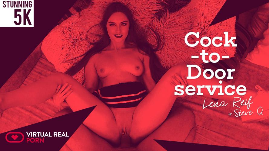 VirtualRealPorn Cock To Door Service