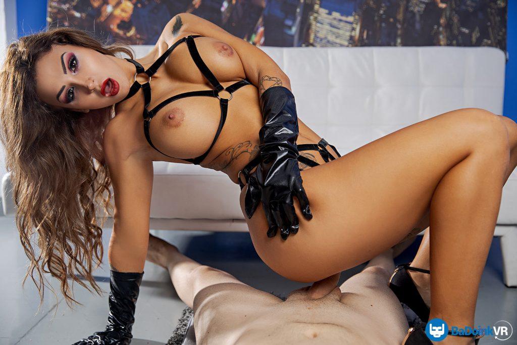 beautiful Latina escort girl riding your cock