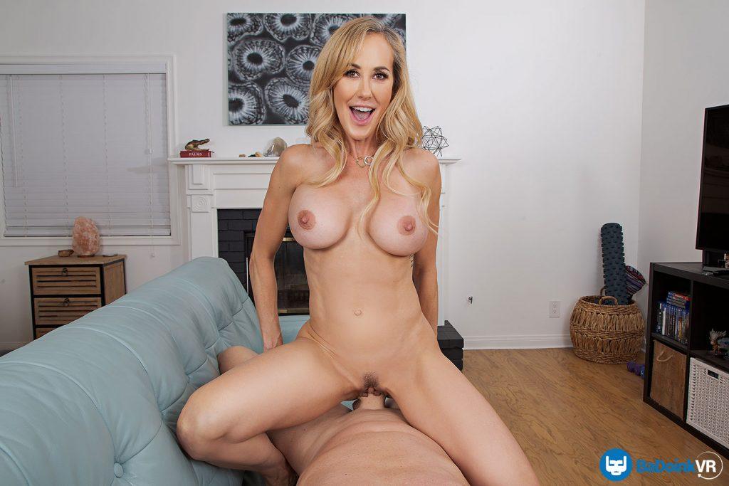 mature blonde riding cock