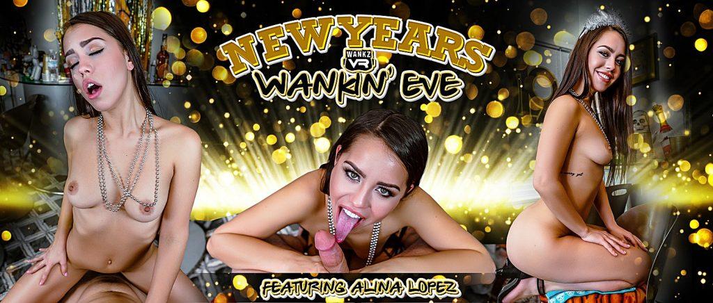 WankzVR Alina Lopez poster