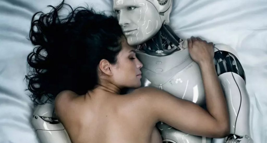 a digisexual romance between a woman and a robot