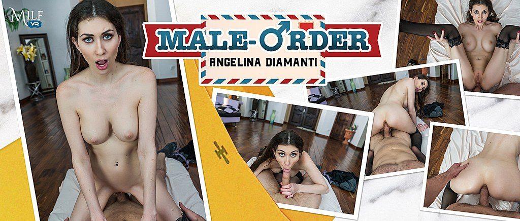 MILFVR Male Order - Angelina Diamanti