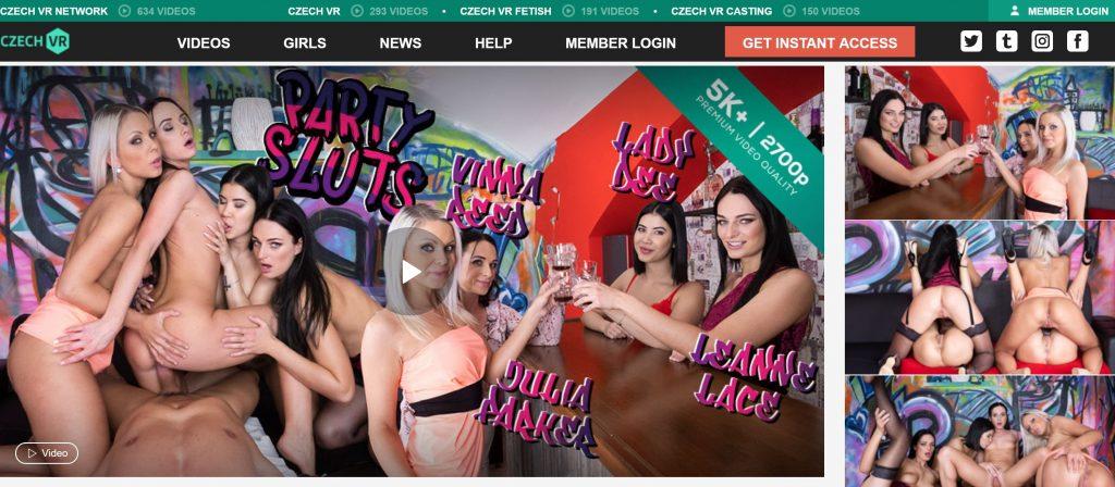 CzechVR Party Sluts banners