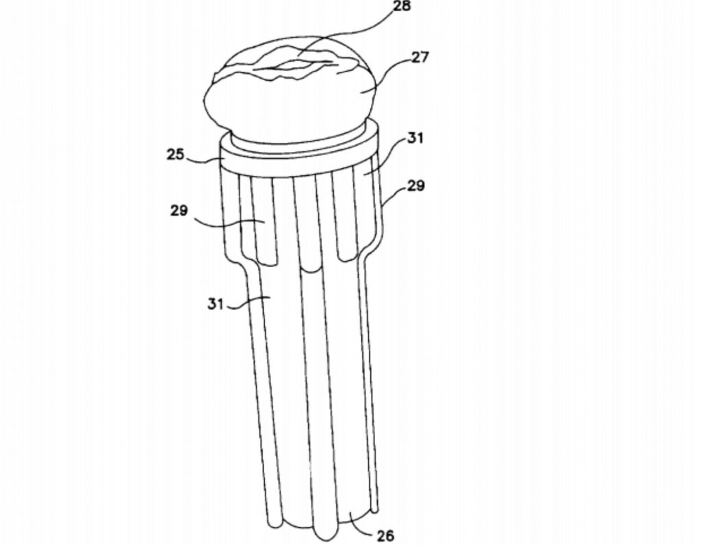 Fleshlight original patent as a sperm collection device
