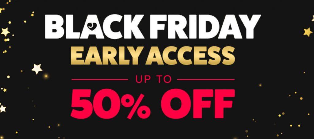 LoveHoney Black Friday 50 Percent Off