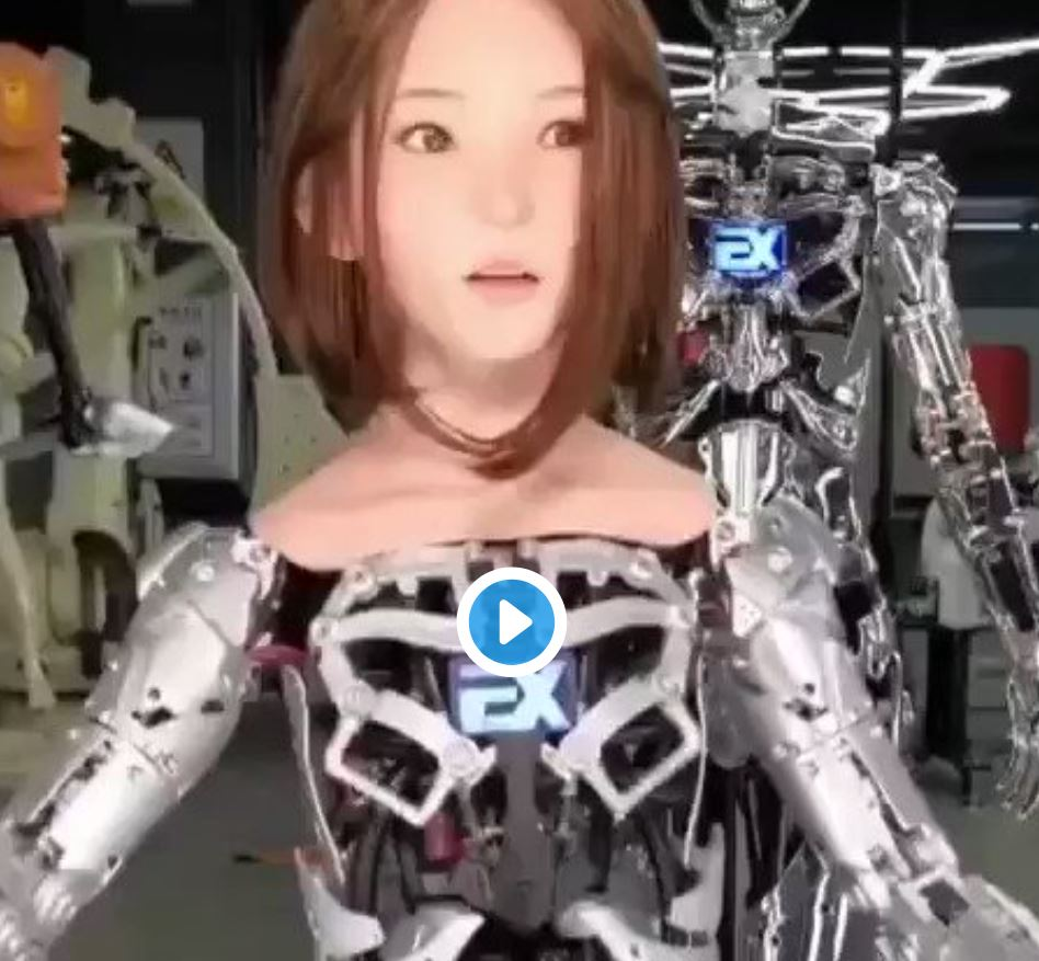 DS Doll robot movement showcased