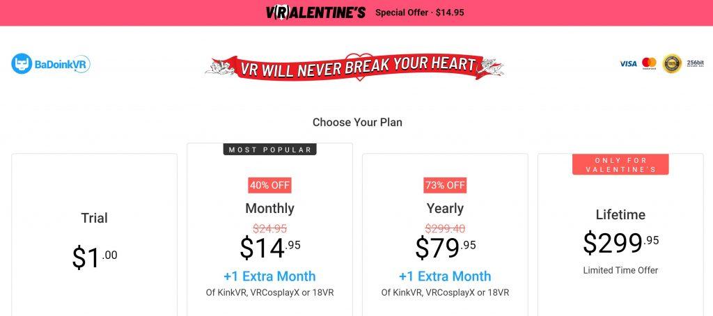 BadoinkVR - Valentines Day Discount