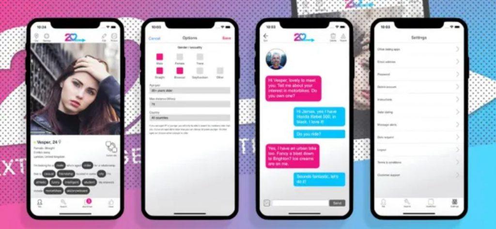 20.dating - Dating app for older men seeking younger women