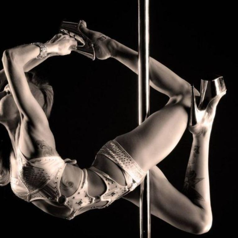The Club VR - pole dancer