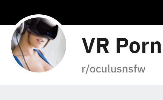 Reddit OculusNSFW