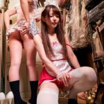 behind the scenes of a Japanese pink salon adult club