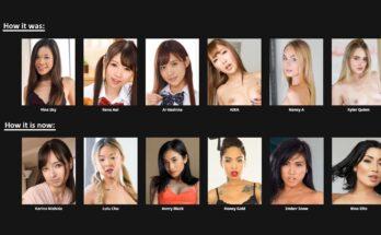SLR American Asian VR pornstar search