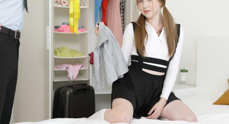 St Martha teen VR porn debut cute girl holding panties