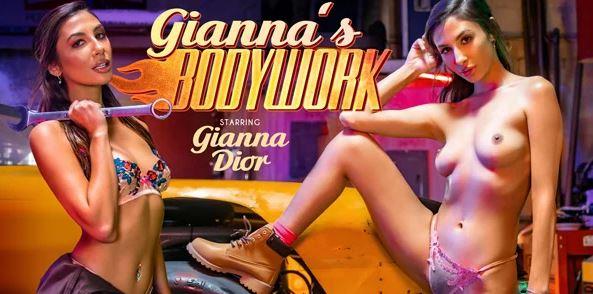 Giannas_Bodywork VRBangers poster featuring Gianna Dior